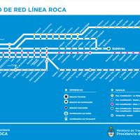 Los nuevos horarios del Tren Roca hacia Constitución