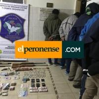 """El Chepi, Viru y la """"Gorda Carina"""" detenidos: cayó peligrosa banda de narcotraficantes"""